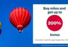 LifeMiles 200% Bonus Sale