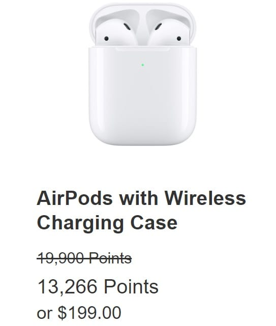 Chase Ultimate Rewards Apple Airpods Wireless Charging Case