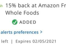 Amazon Fresh Whole Foods Chase Offer