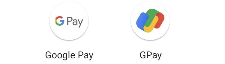 Google Pay logos
