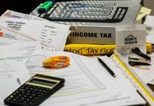 Income tax filing preparation software