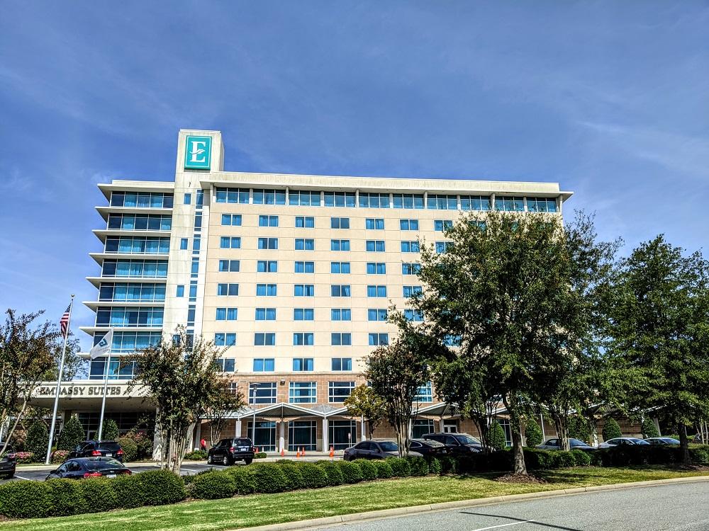 Embassy Suites Hampton Convention Center, VA Hilton
