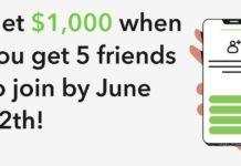 Acorns $1,000 referral promotion