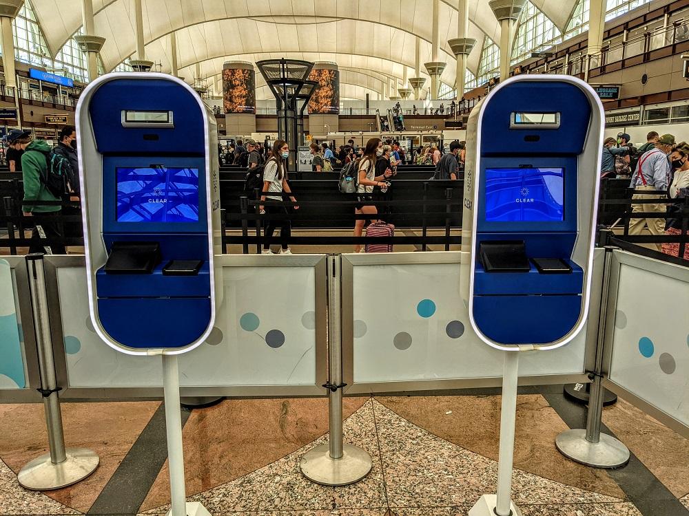 CLEAR kiosks airport