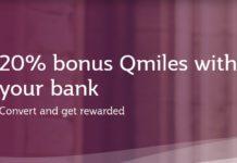 Qatar Airways Qmiles Citi Transfer Bonus