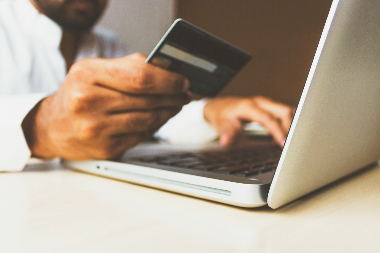 Credit card payment online shopping portal